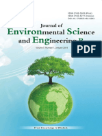 Journal of Environmental Science and Engineering,Vol.7,No.1B,2018