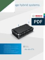 Product Data Sheet 48 v Battery