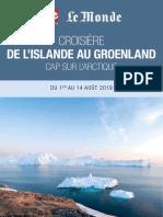 De l'Island au Groeland, cap sur l'arctique