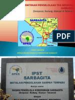 BPSP - Desain Kemitraan Pengelolaan TPA Regional SARBAGITA Bali