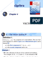 Linear Algebra vector_space.ppt