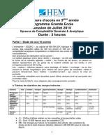 17872151 Decision d Investissement Et de Financement Examen 2008 2009