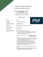 Agrenon Cml 4702 Plan de Cours