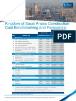 KSA Construction Cost Benchmarking May 2016