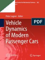 [CISM International Centre for Mechanical Sciences 582] Peter Lugner - Vehicle Dynamics of Modern Passenger Cars (2019, Springer International Publishing).pdf