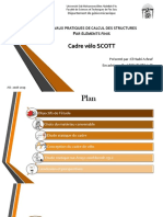 Presentation Cadre Vélo SCOTT