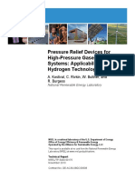 Pressure Relief Devices for High-Pressure Gaseous Storage Systems Applicability to Hydrogen Technology
