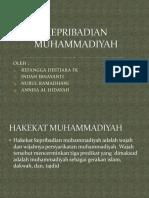 KEPRIBADIAN MUHAMMADIYAH