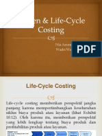 Kaizen & Life-Cycle Costing