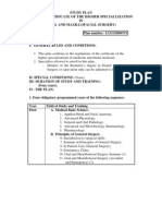 Master-Study Plan_Certificate of the Higher Specialization in Oral Surgery_english