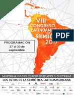 Programacion Completa Congreso FELS 2017