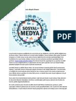 Sosyal Medya Yönetiminin Büyük Önemi -