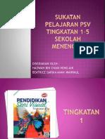 Sukatan Pelajaran Psv Tingkatan 1