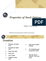 8. Stock Option Properties