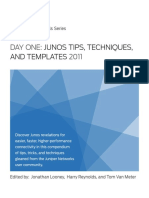 Junos Tips, Techniques, And Templates 2011