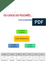 Os casos do polonês