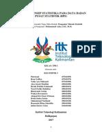 Laporan Konsep Statistika Pada Data Badan Pusat Statistik_kelompok 5