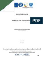 Breviar de calcul - Pod PO13 km 3+507 DL
