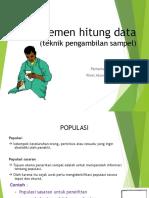 Manajemen Hitung Data