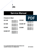 Caterpillar Cat GC30K Forklift Lift Trucks Service Repair Manual SN:AT83D-00011 and up.pdf