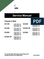 Caterpillar Cat GC30K Forklift Lift Trucks Service Repair Manual SN:AT83D-00011 and up.pdf