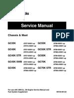 Caterpillar Cat GC70K STR Forklift Lift Trucks Service Repair Manual SN:AT89-00001 and up.pdf