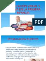 Estimulación Visual y Auditiva en La Primera Infancia