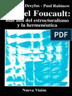 Dreyfus-Rabinow Foucault Mas Alla Del Estructuralismo y La Hermeneutica-SUJETO Y PODER