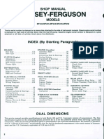 Massey Ferguson MF 250 Tractor Service Repair Manual.pdf