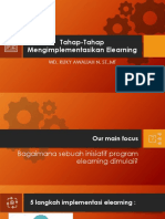 Tahap Implementasi E-learning