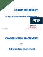 Construction Machinery-presentation 9-1-15