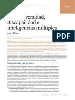 Neurodiversidad Discapacidad e Intelig Múltiples