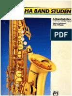 Yamaha Band Sax