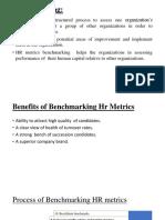 Hr Metrics Benchmarking Final