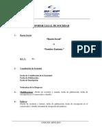 Informe Juridico Empresa