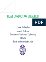 (3) Heat Conduction Equation Compatibility Mode
