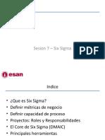 Sesion 7 - Six Sigma