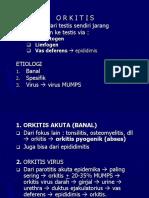 +ORKITIS & EPIDIDIMITIS (SIST.UROGENETALIA)