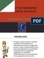Ley de La Seguridad Social