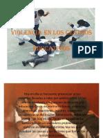 Violencia en Los Centros