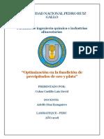 PROYECTO DE METALURGIA