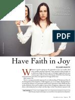 having faith in joy pdf