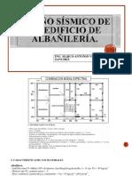 Diseño Sísmico de Un Edificio de Albañilería