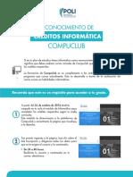 Reconocimientos Creditos Informatica Compuclub