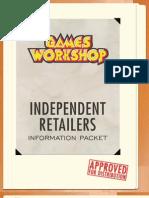Games Workshop Independent Retailer Info