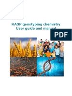KASP Genotyping Chemistry User Guide