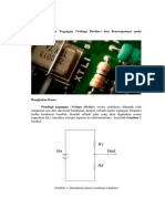 Konsep Pembagi Tegangan (Voltage Divider) Dan Penerapannya Pada Mikrokontroler