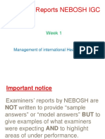 Nebosh Igc1 Element 1 Foundations for h s Rev A