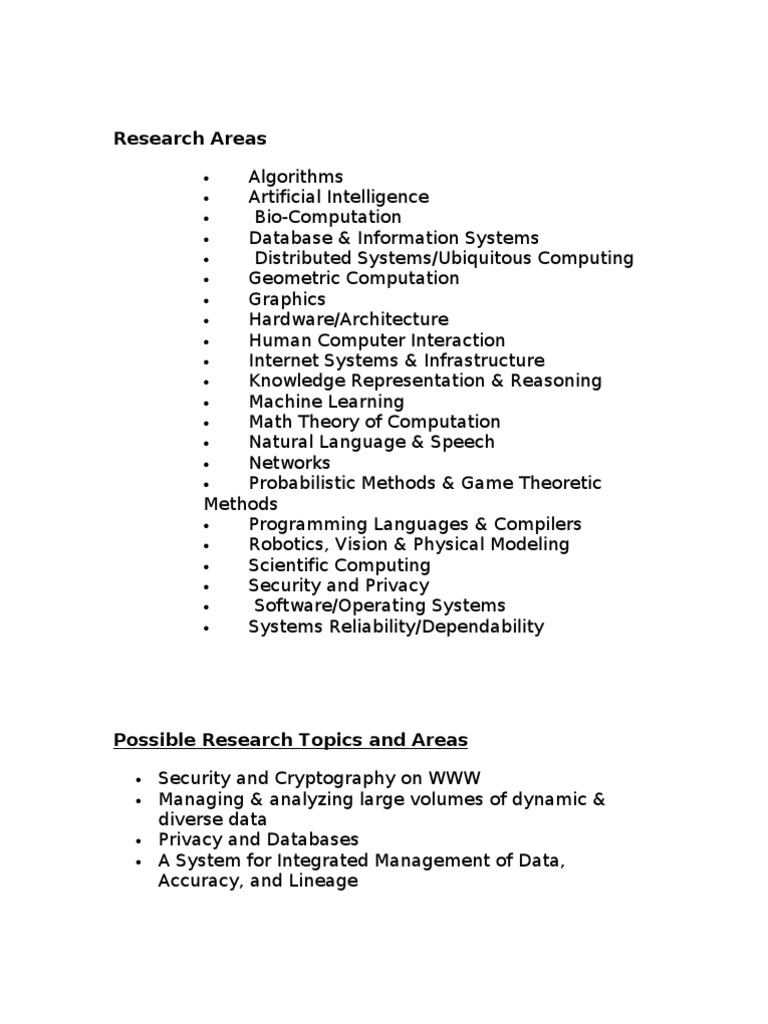 computer security research topics