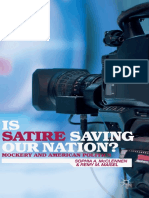 Sophia a. McClennen, Remy M. Maisel (Auth.)-Is Satire Saving Our Nation__ Mockery and American Politics-Palgrave Macmillan US (2014)